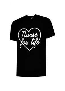 T-Shirt Nurse For Life Black