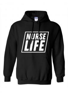 Gildan Hoodie Nurse Life Square