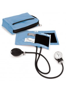 Premium Aneroid Sphygmomanometer with Carry Case Ceil Blue