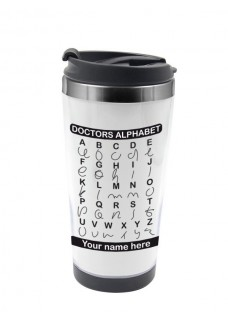 Thermo Travel Mug Doctors Alphabet