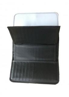 Ladies Luxe Wallet Symbols Grey