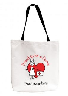 Tote Bag Stick Nurse