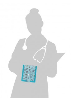 Elite Bags KEEN'S Nursing Organizer Symbols Green + FREE accessories