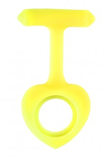 Silicone Cover Heart Yellow