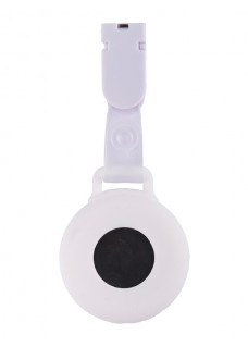 Silicone Nurses Fob Watch Clip White