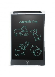 LCD Writing Pad 8.5inch White