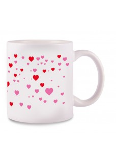 Mug Stick Heart White