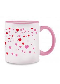 Mug Stick Heart Pink