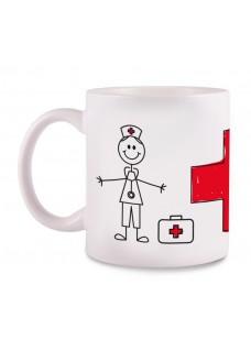 Mug Stick Nurse Cross