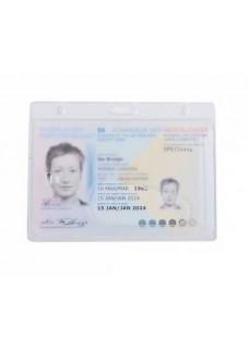 Hard Plastic Card Holder