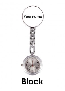 Fob Watch with Name