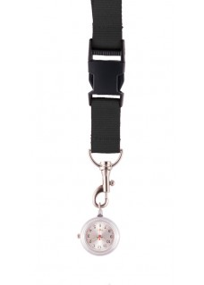 Lanyard Watch Black