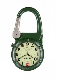 Nurse Clip Watch NOC470 Luminous Green