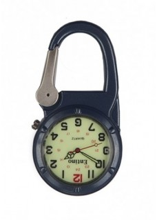 Nurse Clip Watch NOC471 Luminous Blue