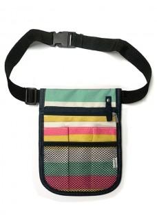 Nurses Carry Multicolored Strips