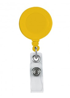 Retracteze ID Holder Yellow