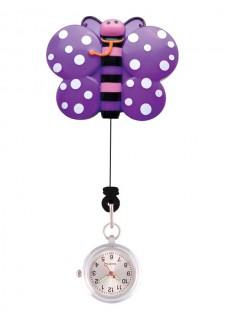 Retracteze Fob Watch Butterfly