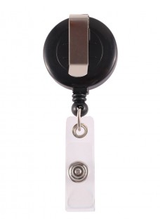 Retracteze ID Holder Black