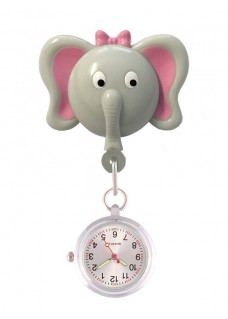 Retracteze Fob Watch Elephant
