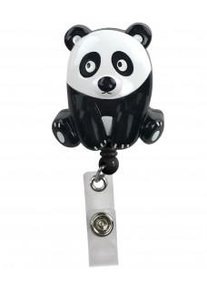 Deluxe Retracteze ID Holder Panda