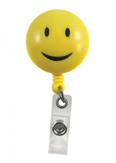Deluxe Retracteze ID Holder Smile