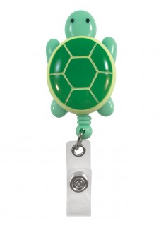 Deluxe Retracteze ID Holder Turtle
