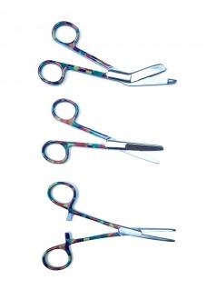 Scissors Set Geometric Vintage