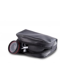 Sphygmomanometer One-Handed with Carry Case Black Red