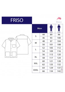 Haen Nurse uniform Friso White