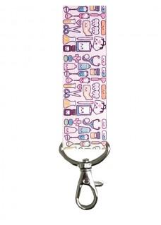 Keycord Symbols Pastel Pink