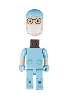 USB Flash Drive Memory Stick Surgeon Turquoise