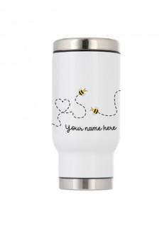 Thermo Travel Mug Bees