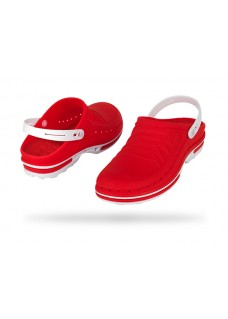 Wock Clog 17 White/Red