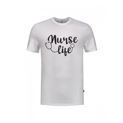 T-Shirt Nurse Life White