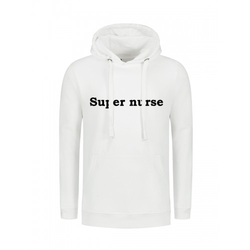 Hoody Super Nurse White