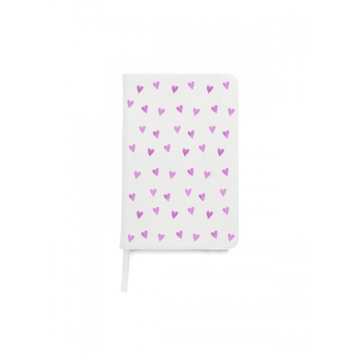 Notebook A5 Pink Hearts