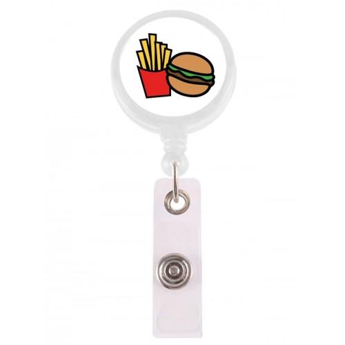 Retracteze ID Holder Hamburger