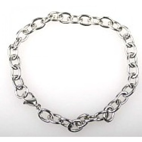 Chain bracelet for charms