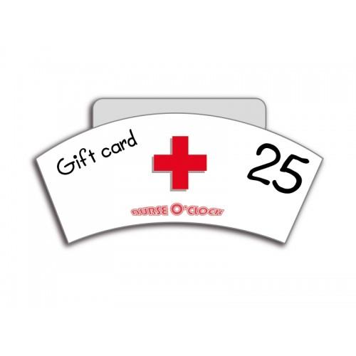 Gift Voucher NurseO'Clock 25 euro