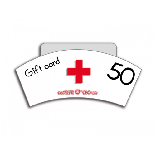 Gift Voucher NurseO'Clock 50 euro