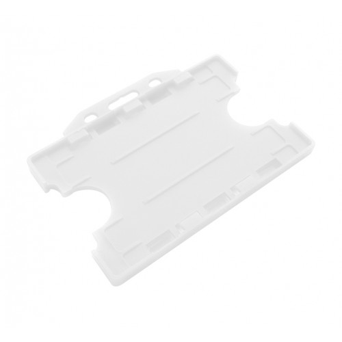 Card ID holder White Double Sided