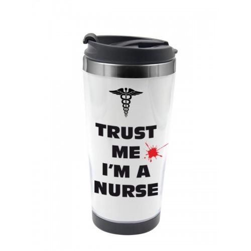 Thermo Travel Mug Trust Nurse