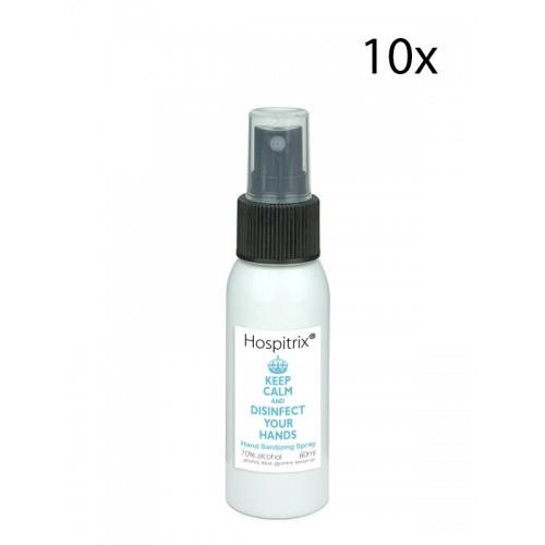 Hand disinfection spray 60ml Hospitrix 10 pcs