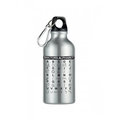 Drink Bottle Doctors Alphabet Silver