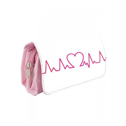 Instruments Case Heart Beat Pink
