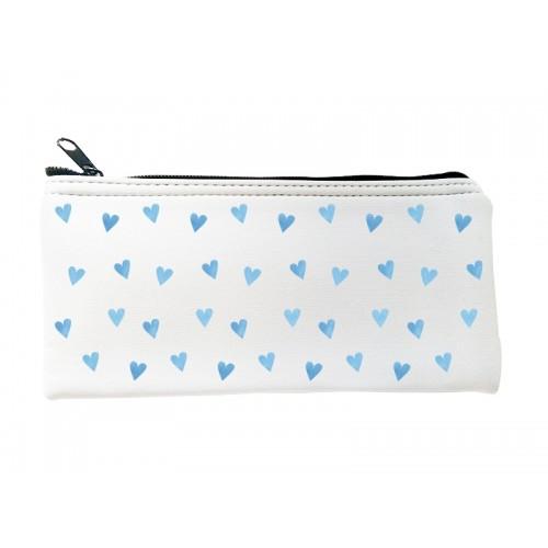 Multipurpose Case Blue Hearts