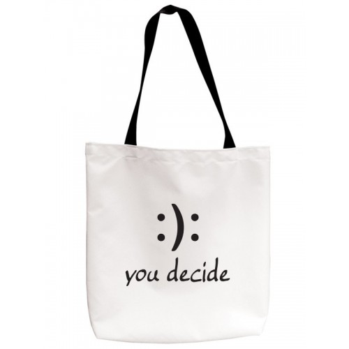 Tote Bag You Decide