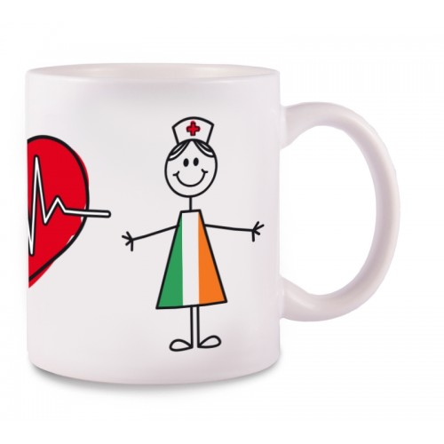 Mug Stick Nurse Ireland