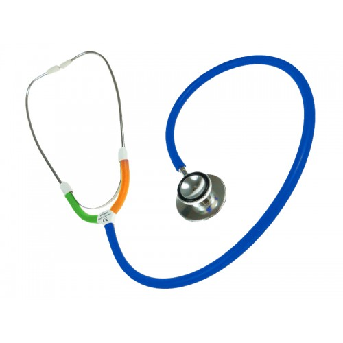 CBC Dual Head Stethoscope Multi Blue