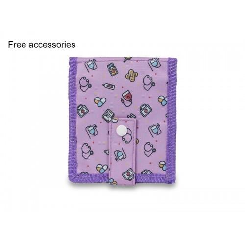 Elite Bags KEEN'S Nursing Organizer Symbols Purple + FREE accessories